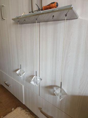 Lampa kuchenna/łazienkowa wisząca