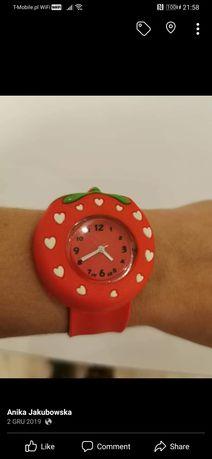 Modny zegarek zapinany nanmagnes