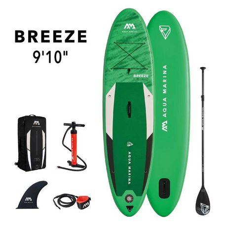 Deska SUP Aqua Marina Breeze 9'10″ (300cm - 220l) Komplet