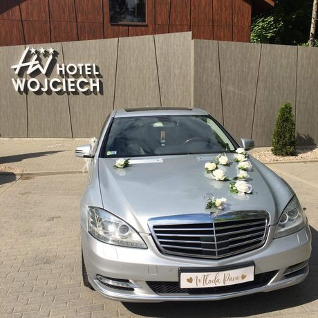 Auto do ślubu / limuzyna Mercedes S
