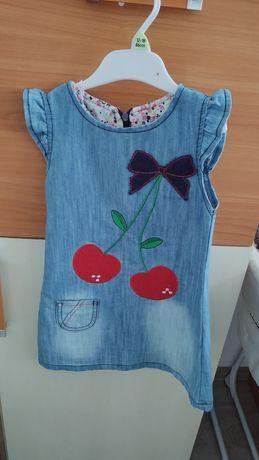 Jeansowa sukienka 104