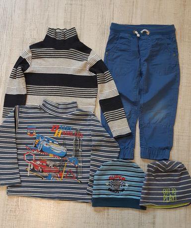 Штаны,кофта, свитер,шапка 2 шт. 98размер, на 3 года