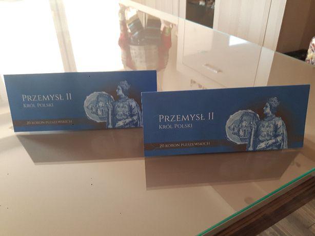 Banknot 20 koron pleszewskich nowe rzadkie numery kolekcjonerskie 2szt