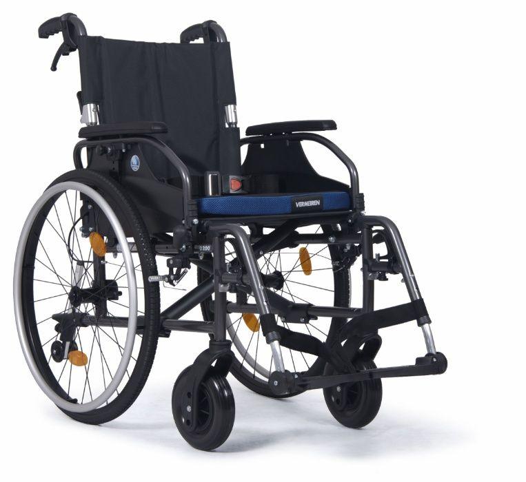 D200 wózek inwalidzki aluminiowy / NFZ / p.129 Łódź - image 1