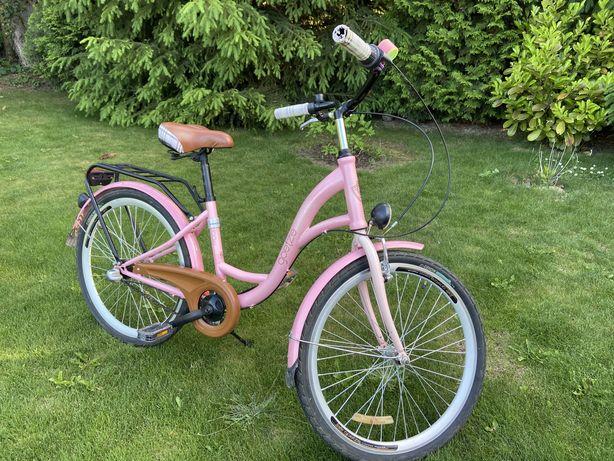 Rower miejski goetze 24 cali dla dziewczynki