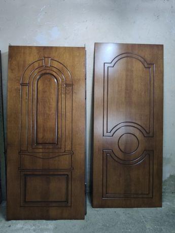 Реставрация бронированных дверей, замена облицовки