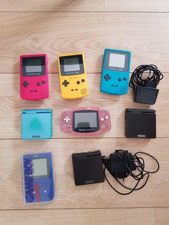 Gameboy color pocket advance SP