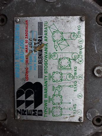 APARAT bezpieczeństwa ZREMB ABU 100