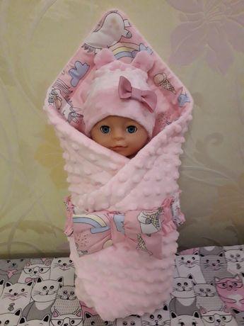 Конверт для пупса в кроватку , кукол