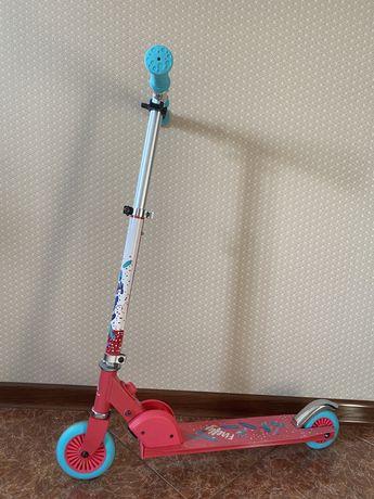 Самокат и велосипед для девочки