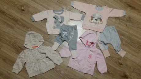 Dresy i bluzy dla dziewczynki - mega paka