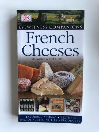 "Książka o serach fransuskich ""French Cheeses"""