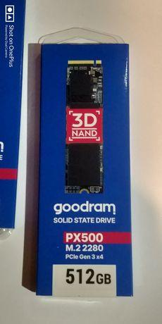 Новый SSD Goodram PX500 M.2 2280 на 512 Гб, упаковка целая с пломбами