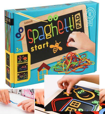 SPAGHETTI do ćwiczenia pisania zabawka sensoryczna