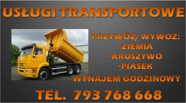 Usługi Transportowe Wywrotka Piach piasek kruszywo Transport