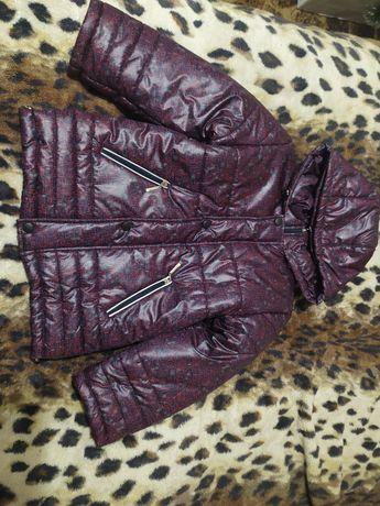 Зимняя куртка ТМ Веселиил р. 122-128, на 5-7 лет