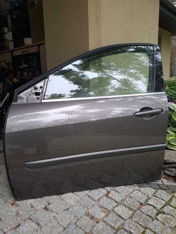 Drzwi lewy przód Renault Laguna III 3 .Drzwi lewe przednie kolor szary