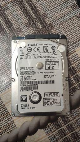 Жесткий диск 500 гб 2.5 Hitachi HTS545050A7E680
