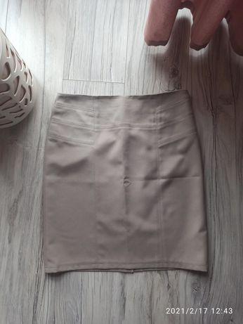 Ołówkowa spódniczka midi rozmiar 38