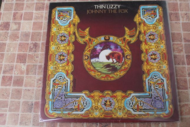 Thin Lizzy – Johnny The Fox, 1976, England, 1st press