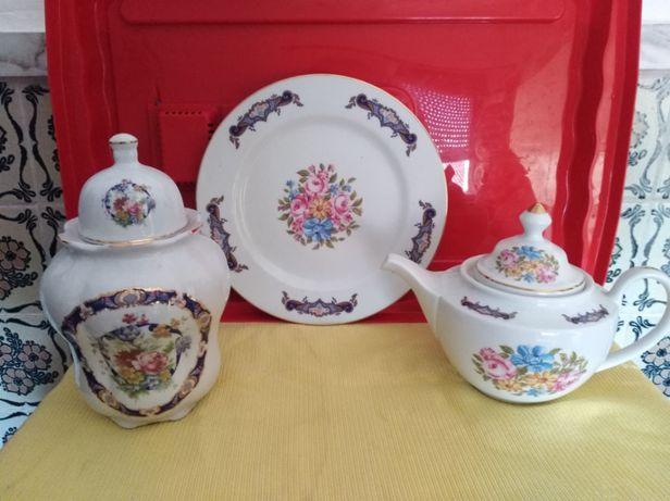 Porcelana T. Limoges