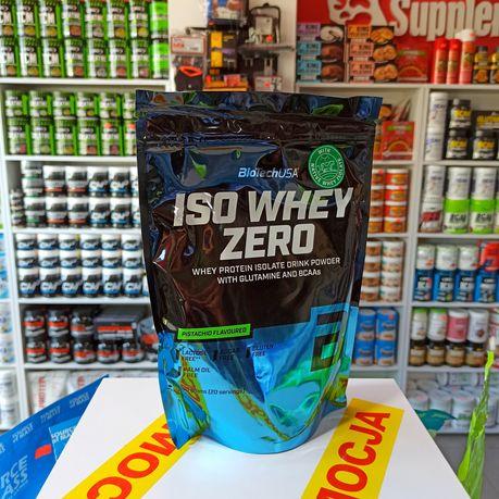Biotech ISO Whey Zero 500g Izolat, Białko WPI, Odżywka białkowa