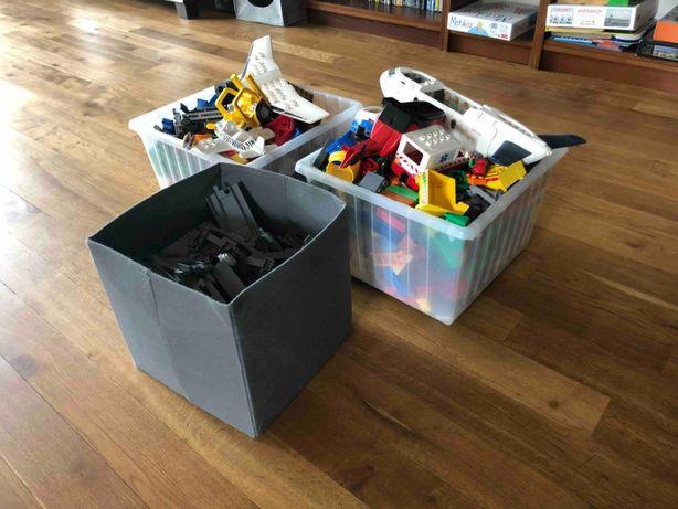 Duży zestaw klocków LEGO DUPLO - 13 kg - POCIĄGI, SAMOLOTY, POJAZDY