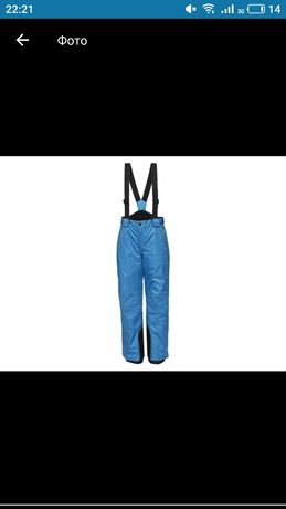 лыжные штаны Lidl, рост 134