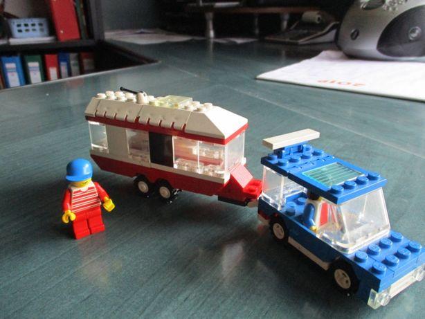 Lego Samochód z przyczepą