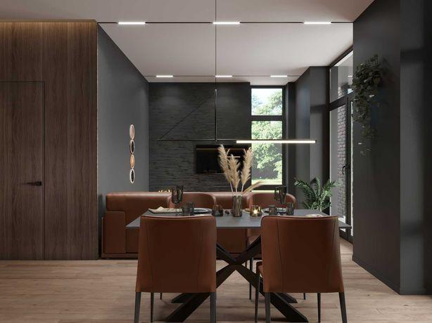 Дизайн проект интерьера дома, дуплекса, таунхауса