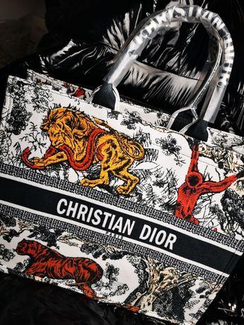 Torba wielka Christian Dior Soho CD nowość wyszywana logowana