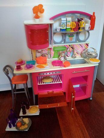 Mebelki Barbie, łóżko, wanna, samochód akcesoria