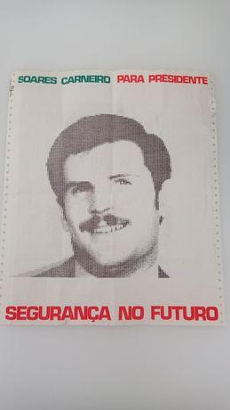Cartaz satírico Soares Carneiro