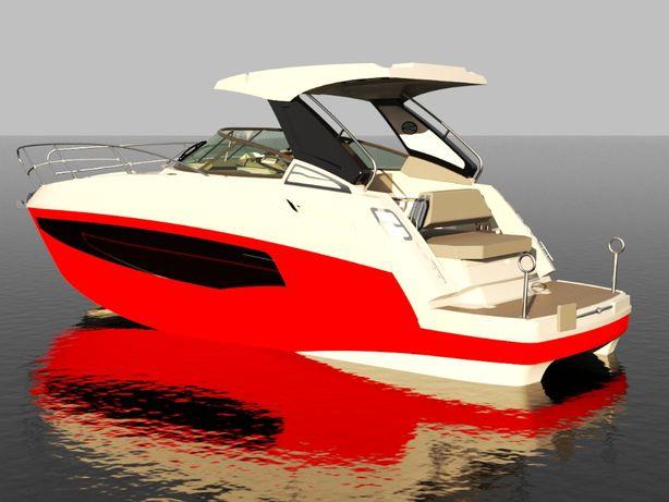 jacht motorowy CORAL 28 HTC -2020r