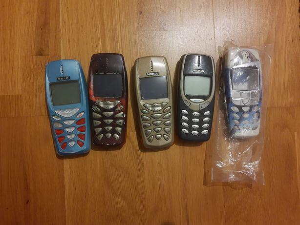 Stare telefony Nokia zestaw