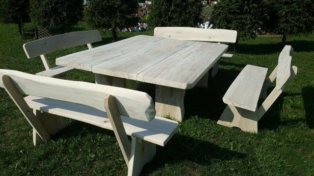 meble ogrodowe / duży stół biesiadny/zestaw ogrodowy