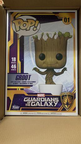 Funko pop 01 Groot 46cm Guardians of the galaxy