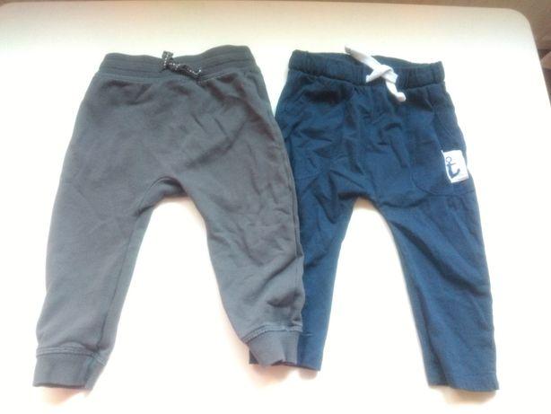 Spodnie dresowe joggery joggersy hm Pepco 80