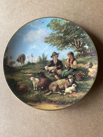 Моменты счастья - коллекция фарфорвых настенных тарелок.