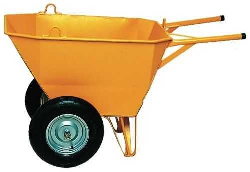 Carrinho de Mão c/ 2 rodas p/ Construção Civil / Obras
