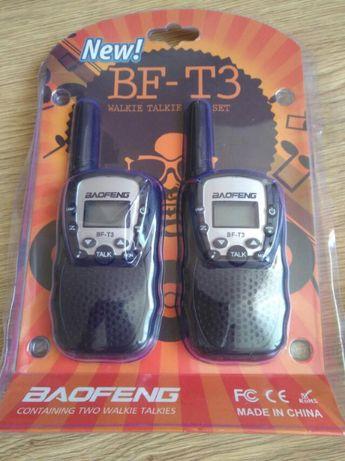 Детская рация Baofeng BF-T3 / Дитяча рація Retevis RT388
