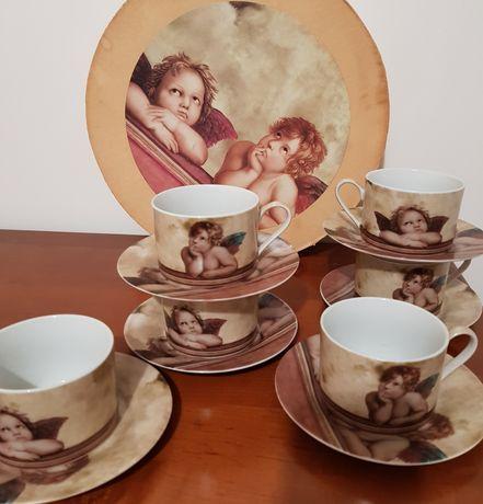 Conjunto chá anjo