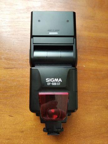 Вспышка Sigma ef-500 st под систему Canon