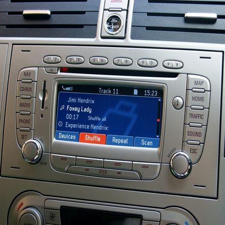 Ford Polskie Menu Lektor Mapa Nawigacja FX NX MFD Mondeo Focus Kuga