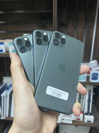 Apple iPhone 11 Pro 64/256 Gb Midnight Green КАК НОВЫЕ! ГАРАНТИЯ!!!