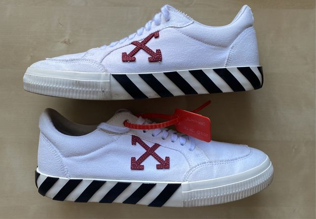 Off White Vulc Low Top White Violet (2020)