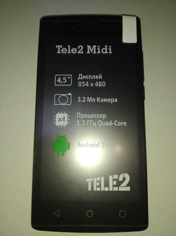 Смартфон Tele 2 midi