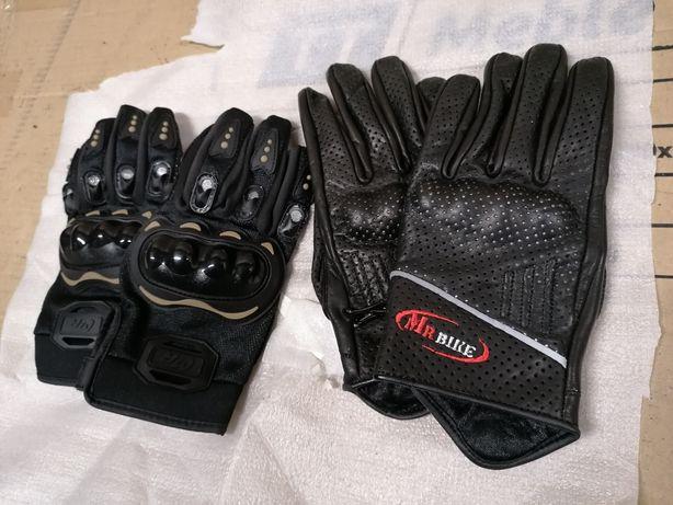 Rękawice motocyklowe krótkie skórzane/tekstylne krotkie cb xjr xj zr
