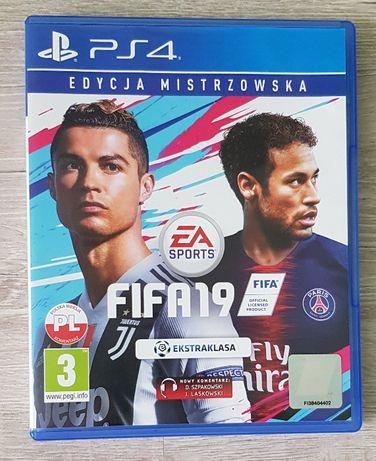 _FIFA19_ Edycja mistrzowska wersja PL PS4
