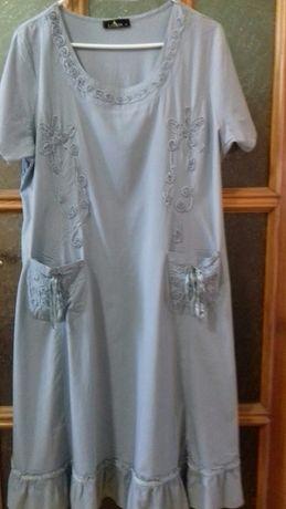 Новое летнее платье LiJuan на 54-56р